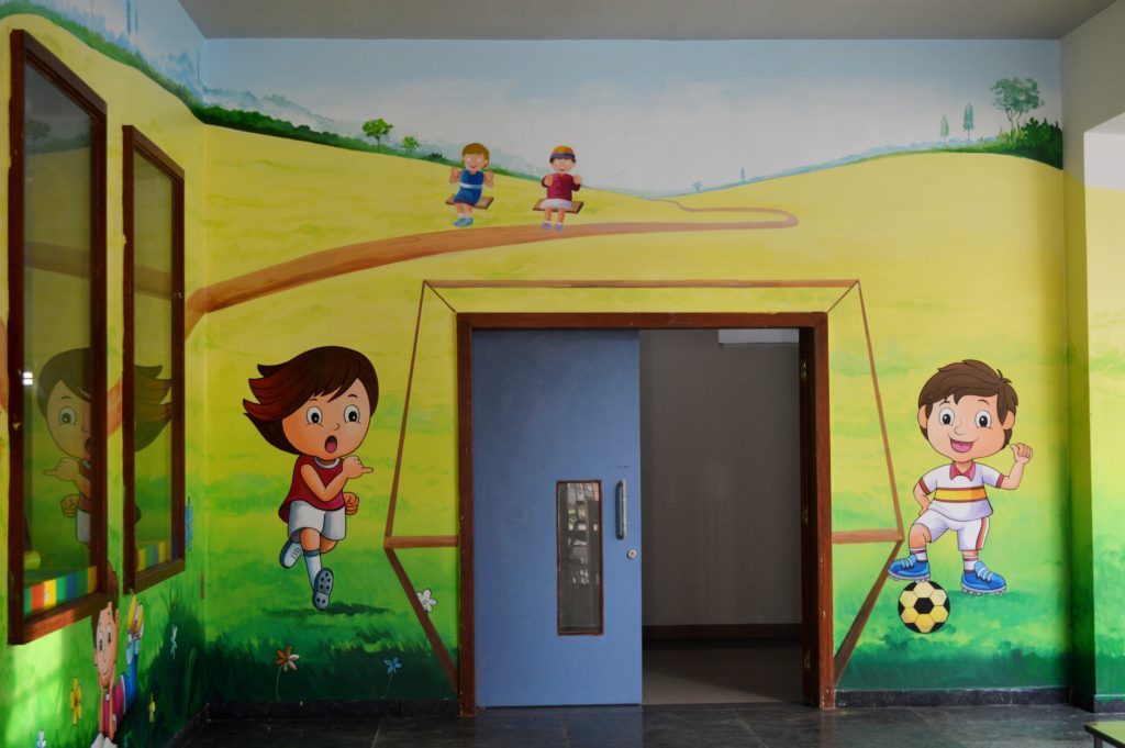 Kindergarten play area